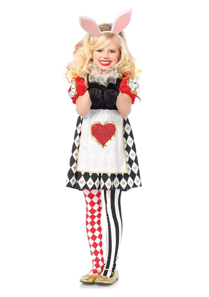 Picture of Wonderland Rabbit Dress Child Costume