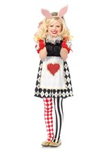 Picture of Wonderland Rabbit Dress Child Costume