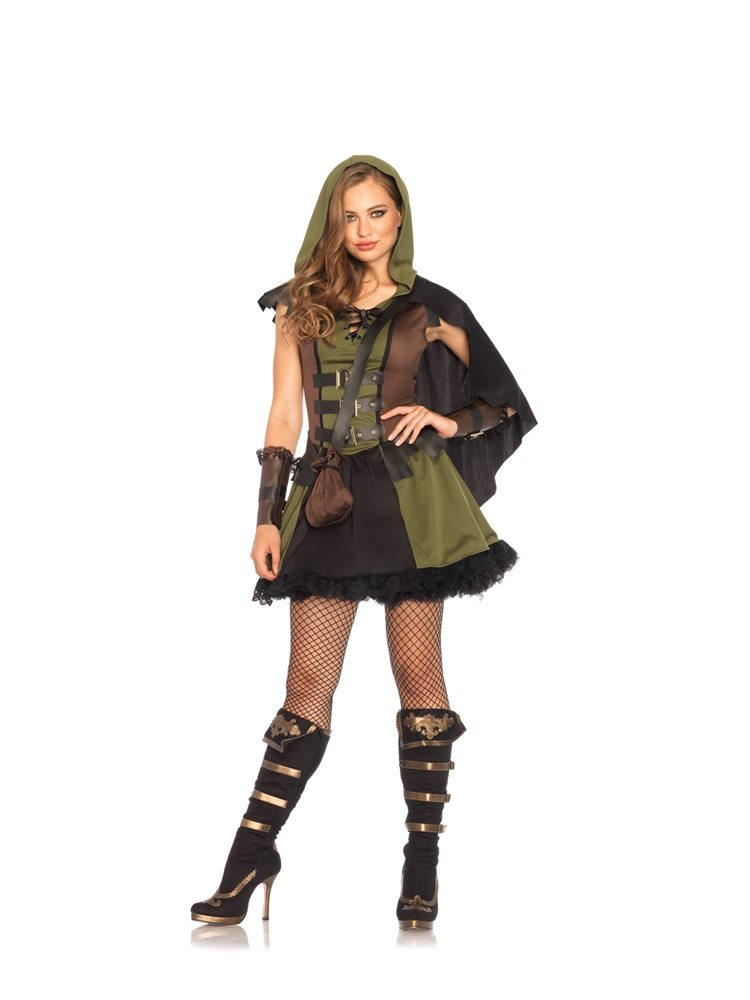 Picture of Darling Robin Hood Adult Womens Costume