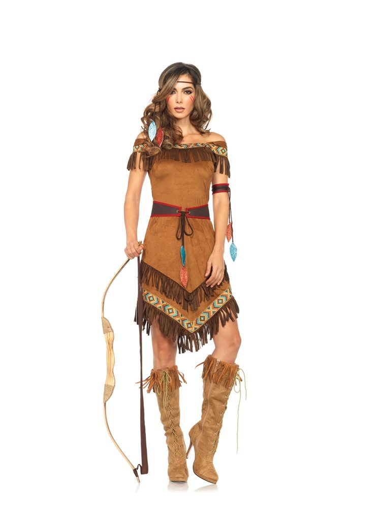 Picture of Native Princess Adult Womens Costume