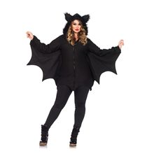 Picture of Cozy Bat Dress Adult Womens Plus Size Costume