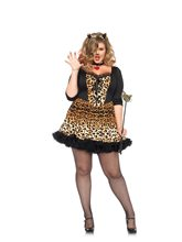 Picture of Wildcat Leopard Adult Womens Plus Size Costume