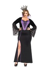 Picture of Evil Dark Queen Adult Womens Plus Size Costume