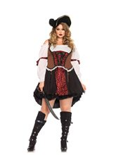 Picture of Ruthless Pirate Wench Adult Womens Plus Size Costume