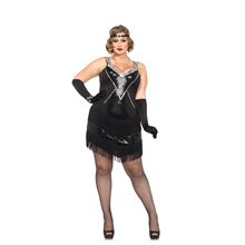 Picture of Glamour Flapper Adult Womens Plus Size Costume
