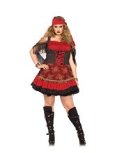 Picture of Mystic Crystal Ball Vixen Adult Womens Plus Size Costume