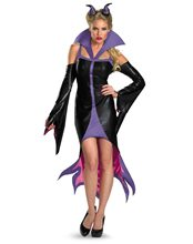 Picture of Sassy Maleficent Adult Womens Costume