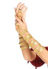 Picture of Golden Warrior Princess Arm Wraps