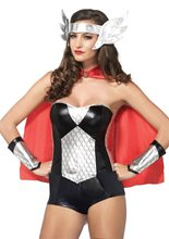 Picture of Nordic Hero Adult Womens Costume Kit