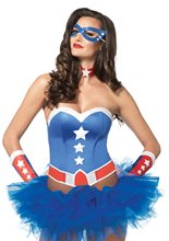 Picture of American Hero Adult Womens Costume Kit