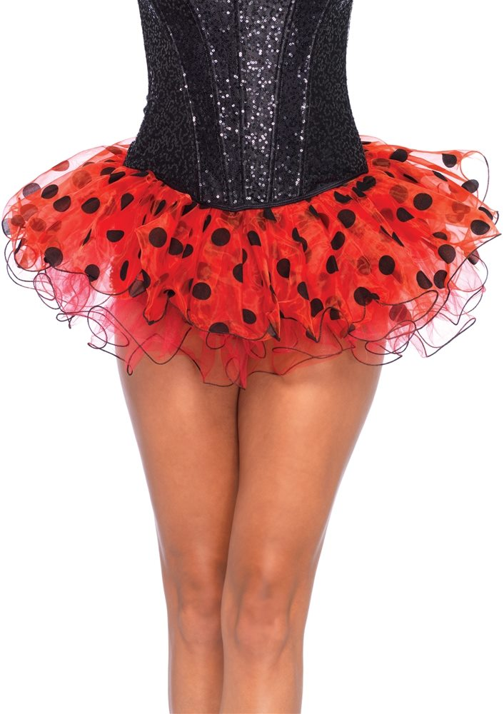 Picture of Red & Black Polka Dot Tutu