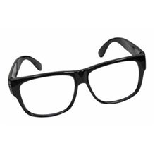 Picture of Black Framed Glasses with No Lenses