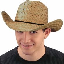 Picture of Straw Barndance Cowboy Hat