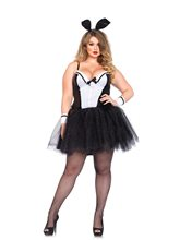 Picture of Curvy Shaper Bunny Adult Womens Plus Size Costume