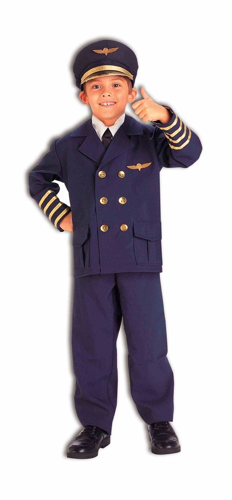 Picture of Airline Pilot Child Costume