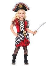 Picture of Rogue Pirate Dress Child Costume