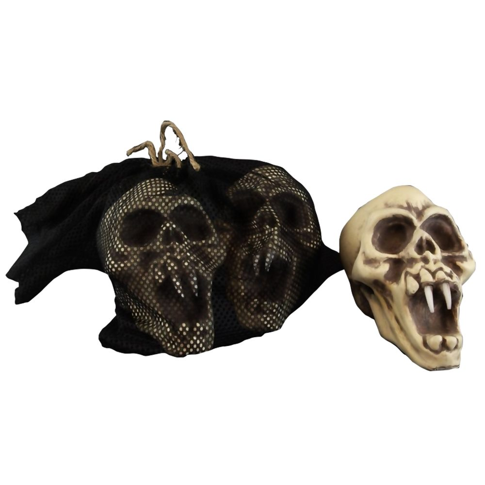 Picture of Skull with Fangs Set 3ct