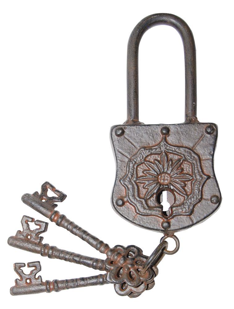 Picture of Iron Door Lock with Keys