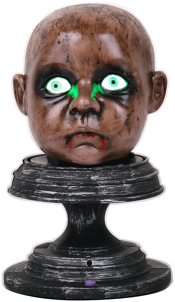Halloween Zombie Baby Prop.Halloweeen Club Costume Superstore Severed Zombie Baby Head Prop