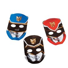 Picture of Power Ranger Megaforce Paper Masks 8ct