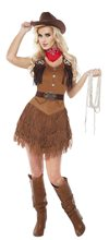 Picture of Silver Star Cowgirl Adult Womens Costume