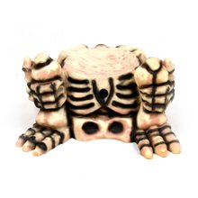 Picture of Small Skeleton Pumpkin Decoration Display
