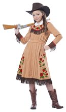 Picture of Annie Oakley Child Costume