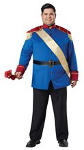 Picture of Storybook Prince Adult Mens Plus Size Costume