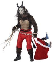 Picture of Krampus the Christmas Demon Adult Mens Costume