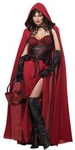 Picture of Dark Red Riding Hood Adult Womens Costume