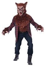 Picture of Blood Moon Wolf Adult Mens Costume