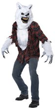 Picture of White Lycan Werewolf Adult Mens Costume