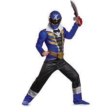 Picture of Power Rangers Super Megaforce Blue Ranger Muscle Child Costume