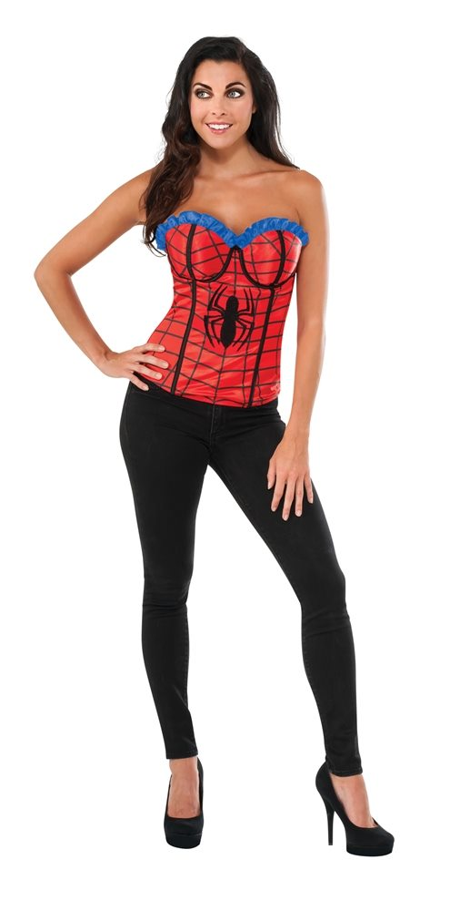 Picture of Spider-Girl Classic Adult Womens Corset