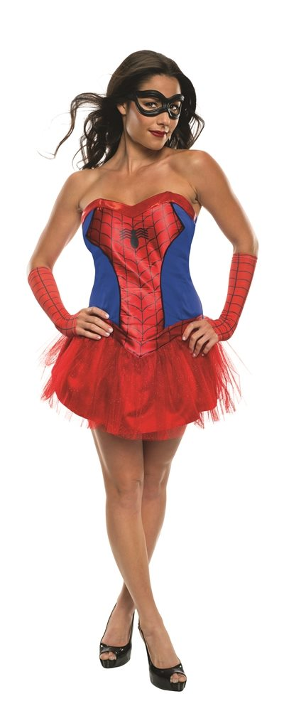 Picture of Spider-Girl Tutu Dress Adult Womens Costume