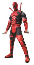 Picture of Deadpool Deluxe Fiber Filled Adult Mens Costume