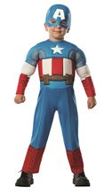 Picture of Avengers Assemble Captain America Toddler Costume