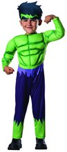Picture of Avengers Assemble Hulk Toddler Costume