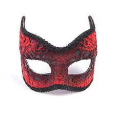 Picture of Red Devil Lace Mask