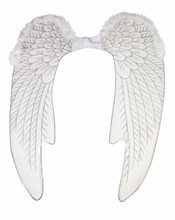 Picture of Large White Angel Wings