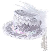 Picture of Mini Ghost Lace Top Hat