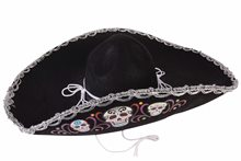 Picture of Day of the Dead Deluxe Sombrero
