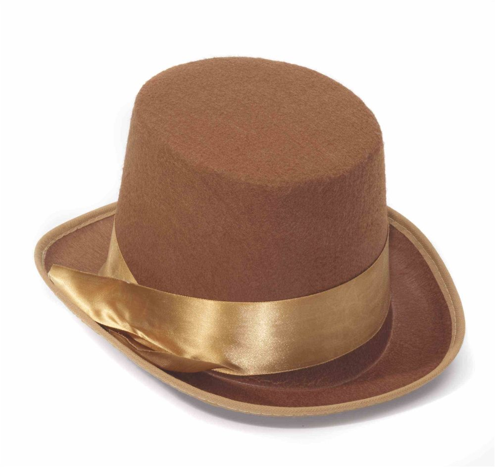 Picture of Steampunk Brown Bell Topper Hat