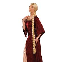 Picture of Long Braided Princess Wig