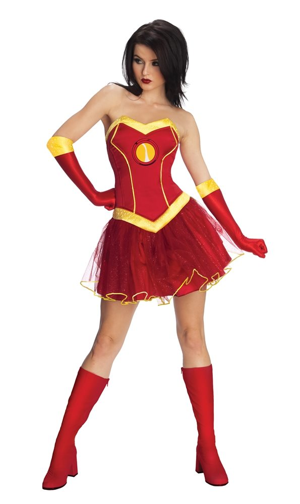Picture of Iron Woman Rescue Tutu Dress Adult Womens Costume