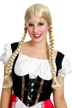 Picture of Classic Dual Braids Blonde Wig