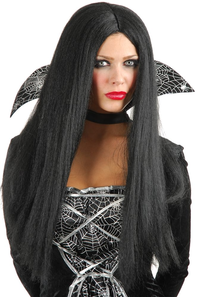 Picture of Priestess Long Black Wig
