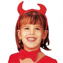 Picture of Devil Girl Child Accessory Kit