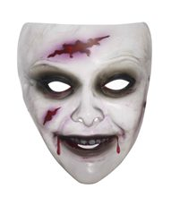 Picture of Transparent Female Zombie Mask