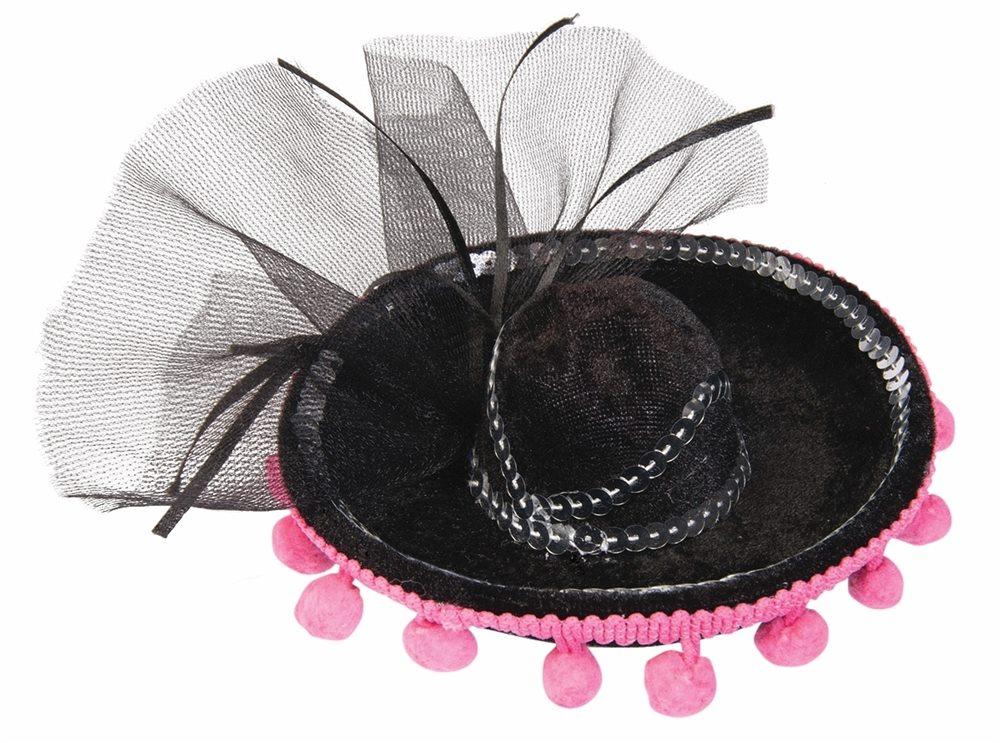 Picture of Day of the Dead Mini Sombrero